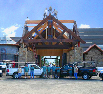 Colorado Custom timber builder company
