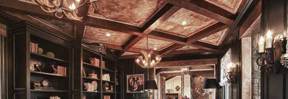 Beautiful custom beams