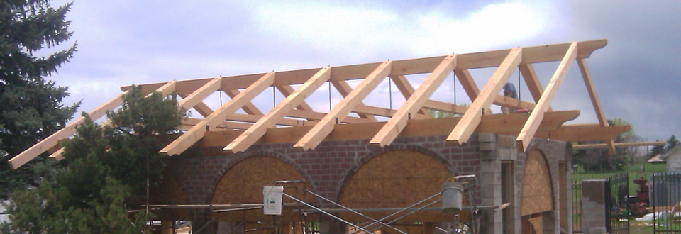 Retrofitted trusses